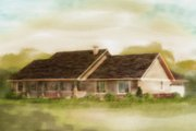 Ranch Style House Plan - 3 Beds 2 Baths 1924 Sq/Ft Plan #18-9545