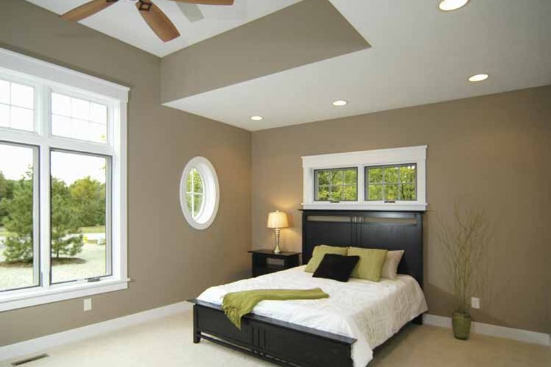 Bungalow Interior - Bedroom Plan #928-169 - Houseplans.com
