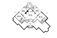 European Floor Plan - Lower Floor Plan Plan #929-944