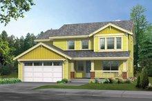 Home Plan - Craftsman Exterior - Front Elevation Plan #569-20