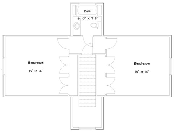 Cabin Floor Plan - Other Floor Plan #1060-24