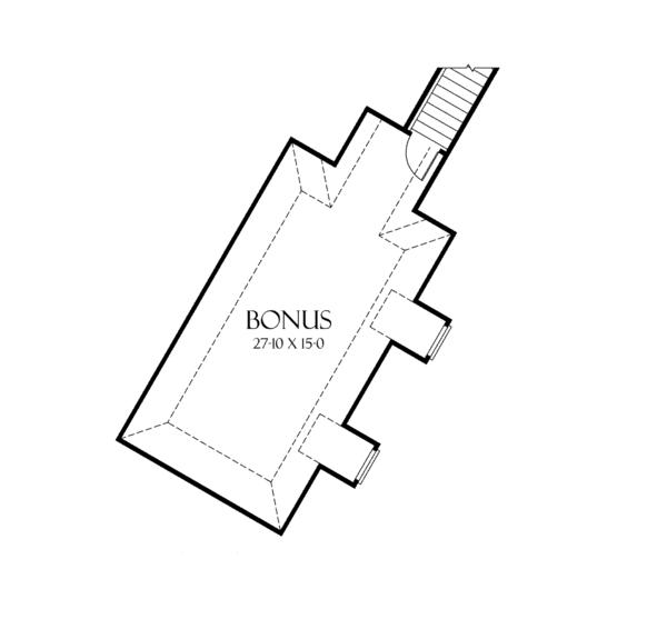European Floor Plan - Other Floor Plan Plan #929-895