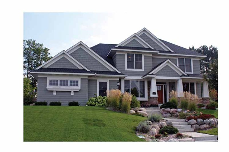 House Plan Design - Country Exterior - Front Elevation Plan #51-1096