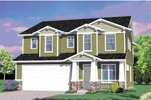 Traditional Exterior - Front Elevation Plan #509-229