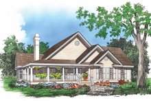 Dream House Plan - Bungalow Exterior - Front Elevation Plan #929-248