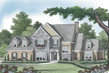 Architectural House Design - Country Exterior - Front Elevation Plan #453-533