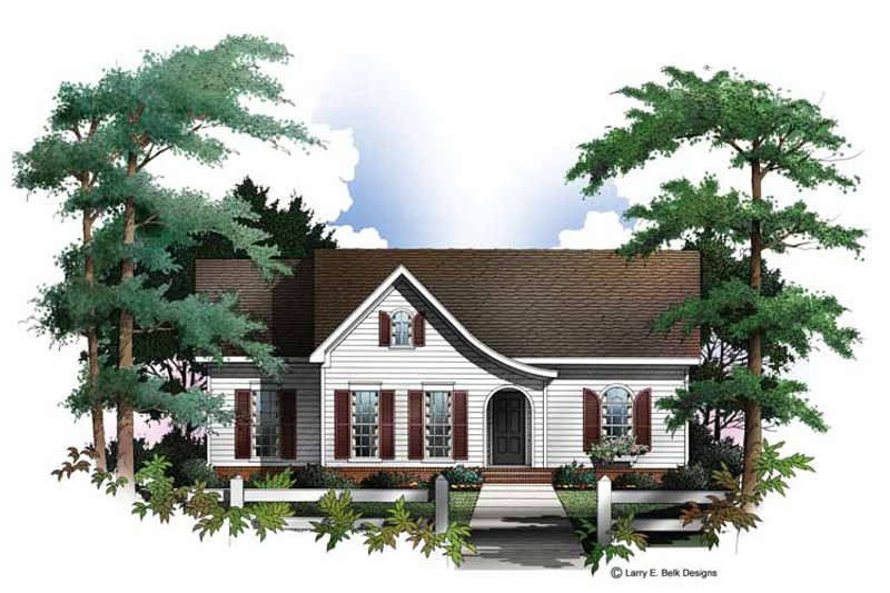 Dream House Plan - Colonial Exterior - Front Elevation Plan #952-230