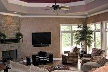 Architectural House Design - Contemporary Interior - Family Room Plan #11-280