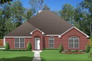 Traditional Style House Plan - 4 Beds 2 Baths 1946 Sq/Ft Plan #84-586 Exterior - Front Elevation