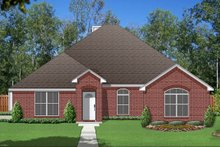 Dream House Plan - Traditional Exterior - Front Elevation Plan #84-586