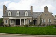 Classical Style House Plan - 4 Beds 3 Baths 3329 Sq/Ft Plan #137-127 Exterior - Front Elevation