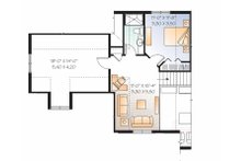 Traditional Floor Plan - Upper Floor Plan Plan #23-2546