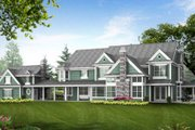 Country Style House Plan - 4 Beds 4.5 Baths 7950 Sq/Ft Plan #132-180 Exterior - Rear Elevation