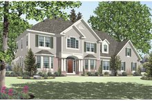 House Design - Traditional Exterior - Front Elevation Plan #328-453