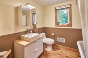 Craftsman Style House Plan - 1 Beds 1 Baths 432 Sq/Ft Plan #890-11 Interior - Bathroom