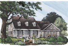 Classical Exterior - Front Elevation Plan #137-309