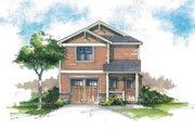 Craftsman Style House Plan - 3 Beds 2.5 Baths 1412 Sq/Ft Plan #53-563