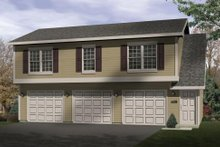 House Plan Design - Traditional Exterior - Front Elevation Plan #22-403