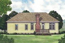 Traditional Exterior - Rear Elevation Plan #453-41
