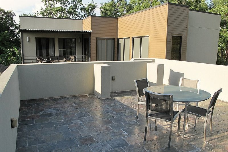 Roof top deck - 2600 square foot Modern home