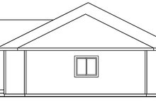 Home Plan - Ranch Exterior - Other Elevation Plan #124-394