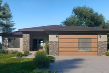 Dream House Plan - Traditional Exterior - Front Elevation Plan #1066-122