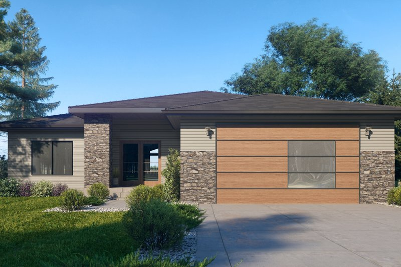 Traditional Style House Plan - 3 Beds 2 Baths 2002 Sq/Ft Plan #1066-122