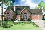 European Style House Plan - 3 Beds 3 Baths 1803 Sq/Ft Plan #405-124