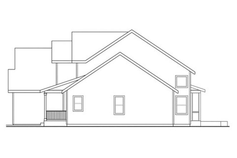 Craftsman Exterior - Other Elevation Plan #124-836 - Houseplans.com