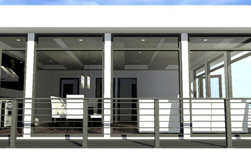Contemporary Exterior - Outdoor Living Plan #64-304 - Houseplans.com