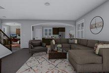 Craftsman Interior - Family Room Plan #1060-52