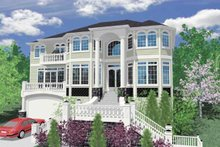 Contemporary Exterior - Front Elevation Plan #509-390