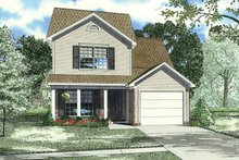 Home Plan - Traditional Exterior - Front Elevation Plan #17-3338