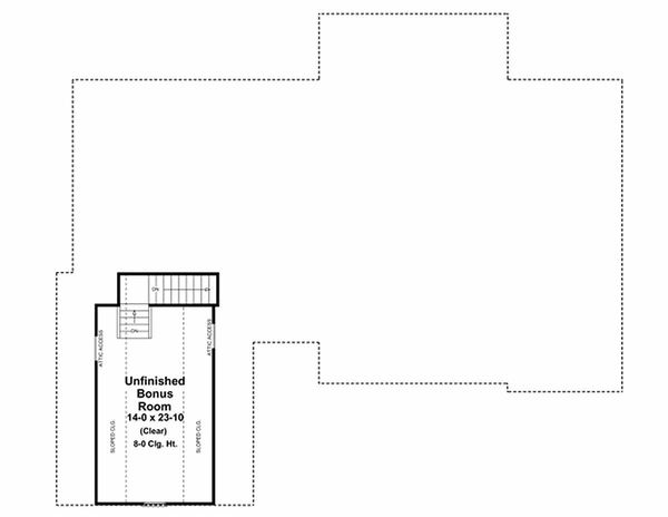 House Plan Design - Southern Floor Plan - Other Floor Plan #21-218