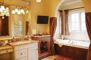 Mediterranean Style House Plan - 3 Beds 4.5 Baths 4509 Sq/Ft Plan #1058-14 Interior - Master Bathroom