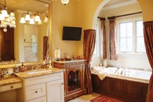 Mediterranean Interior - Master Bathroom Plan #1058-14