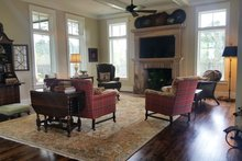 Architectural House Design - Farmhouse Interior - Family Room Plan #928-359