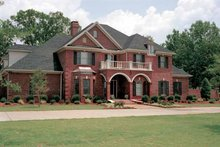 Dream House Plan - Traditional Exterior - Front Elevation Plan #17-2629