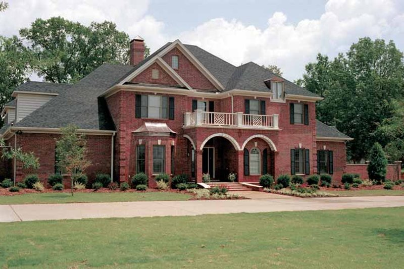 Architectural House Design - Traditional Exterior - Front Elevation Plan #17-2629