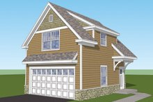 Architectural House Design - Craftsman Exterior - Front Elevation Plan #1029-66