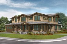 Craftsman Exterior - Front Elevation Plan #132-261
