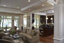 Architectural House Design - Craftsman Interior - Family Room Plan #928-171