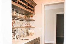 House Design - Morning Kitchen/Wet Bar