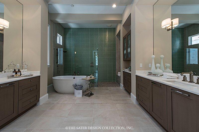 Mediterranean Interior - Master Bathroom Plan #930-458 - Houseplans.com