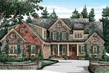 Home Plan - European Exterior - Front Elevation Plan #927-416