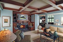 House Design - Craftsman Interior - Family Room Plan #928-18