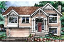 Home Plan - Traditional Exterior - Front Elevation Plan #320-368