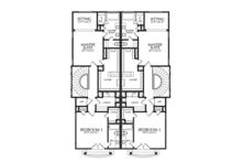 Mediterranean Floor Plan - Other Floor Plan Plan #1021-16