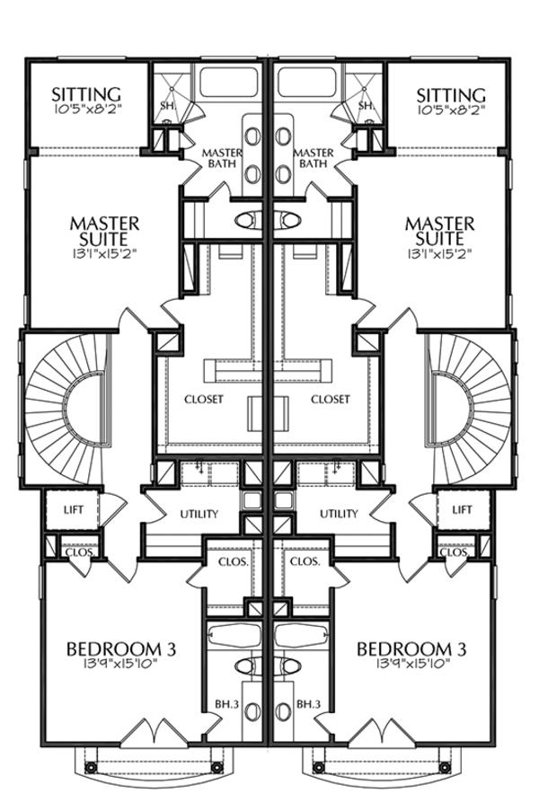 House Plan Design - Mediterranean Floor Plan - Other Floor Plan #1021-16