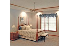 House Plan Design - Traditional Interior - Master Bedroom Plan #314-277